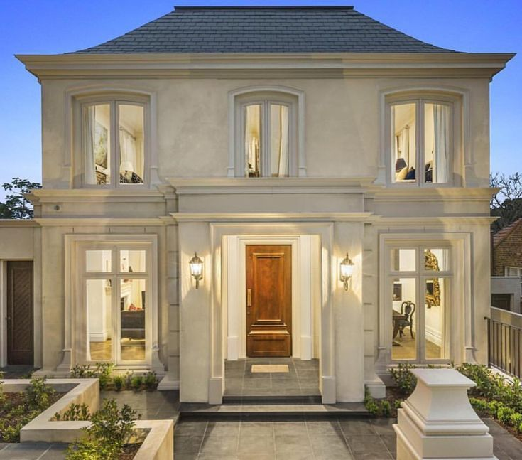 Neoclassical House Classic House Exterior Facade House Classic House Design