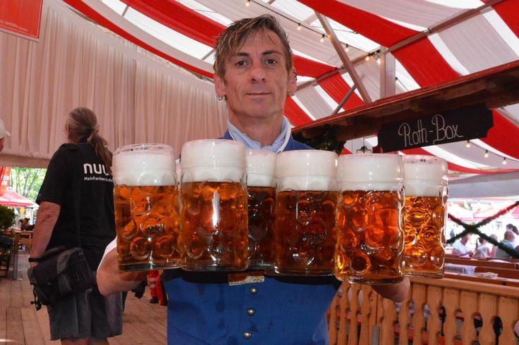 Volksfest Schweinfurt : Die Eröffnung 2015