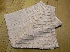 Ravelry: Window Pane Pram Blanket pattern by Morris & Sons