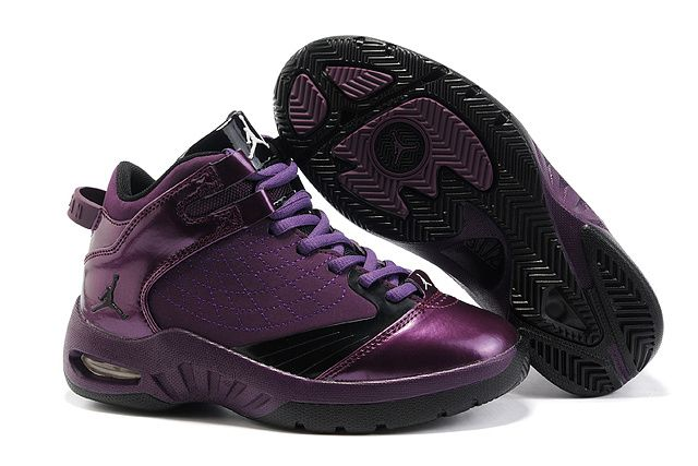 Un7TKoD Nike Air Jordan New School Kids Basketball Wine Red Shoes