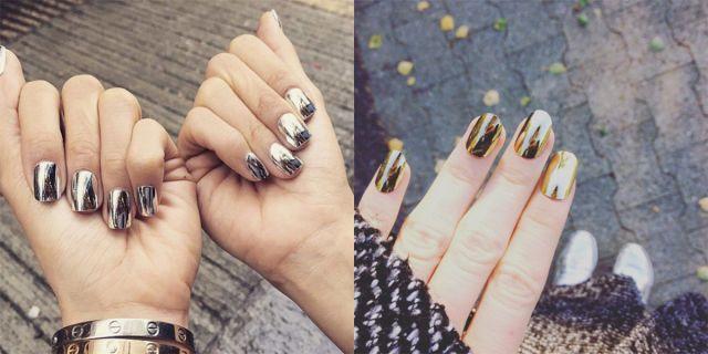 Oltre 25 fantastiche idee su unghie a specchio su pinterest - Unghie argento specchio ...