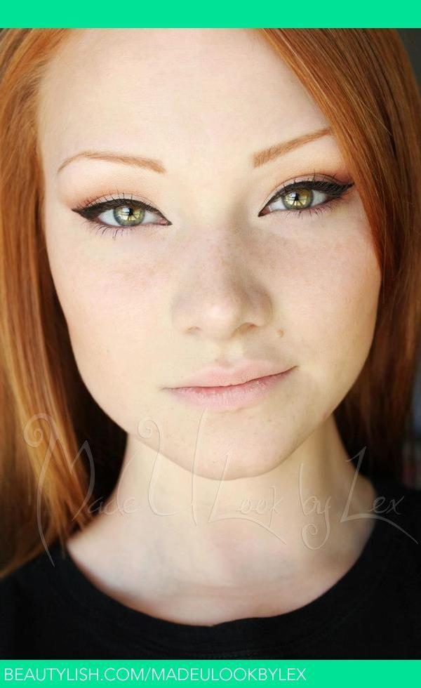 Natural Fall Eyes | Alexys F.'s (madeulookbylex) Photo | Beautylish