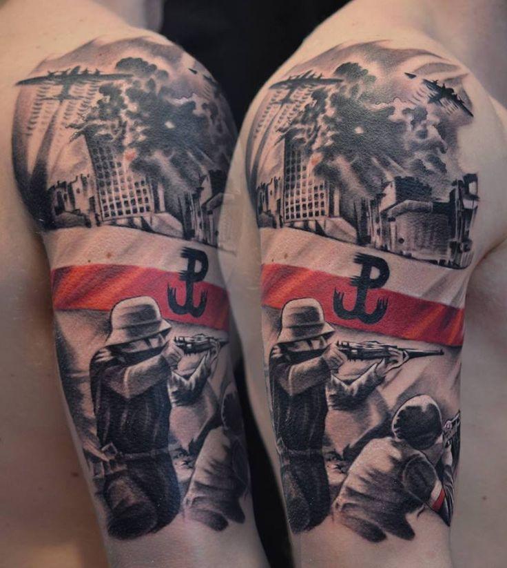 Polish Tattoo Ideas: 13 Best Polska Walcząca AK Husaria Images On Pinterest