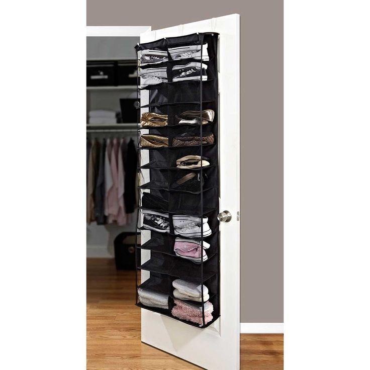 26 Shelf Over the Door Shoe Rack - Closet Storage - Organization