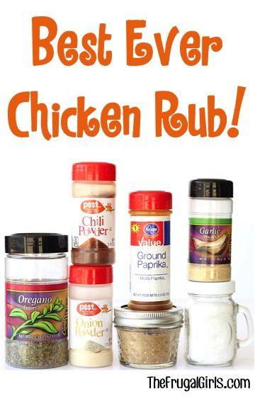 Easy bbq chicken rub recipes