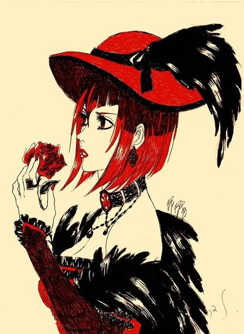 Madame red from Black Butler. She is very pretty