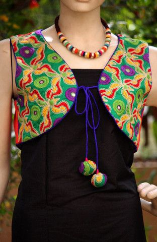 Kutch Embroidered Jacket