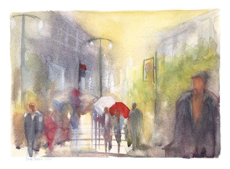 Rush Hour in the Rain
