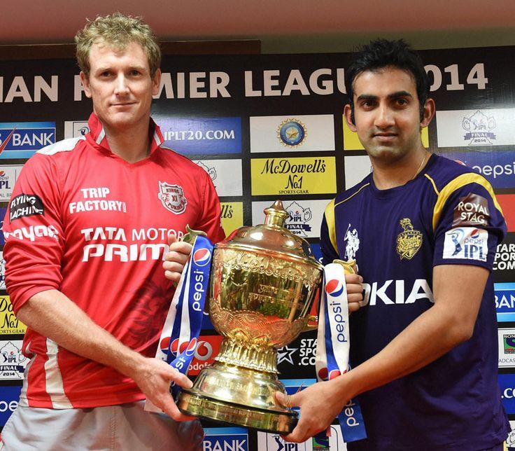 Kolkata Knight Riders vs Kings XI Punjab IPL Final Live Streaming 01 June 2014
