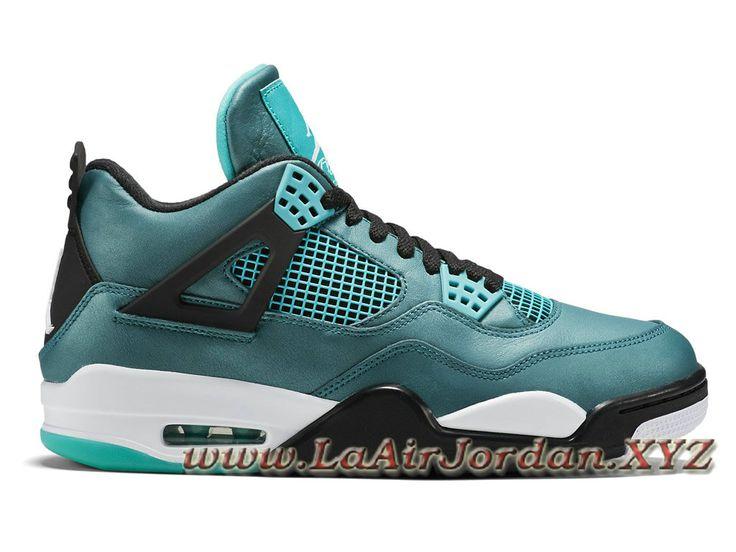 Air Jordan 4/IV Retro Teal 705331-330 Chaussures Officiel Pas Cher Pour  Homme