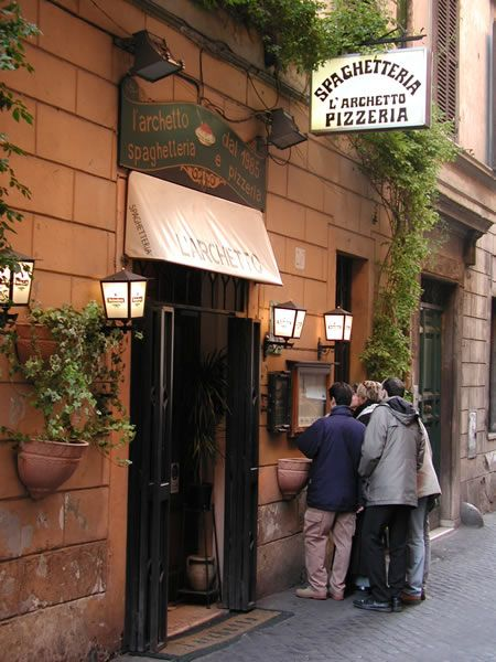 the BEST little pasta restaurant in Rome...over 120 kinds of spaghetti and amazing house wine for just a few Euros