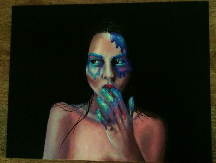 """Original acrylic painting on canvas 