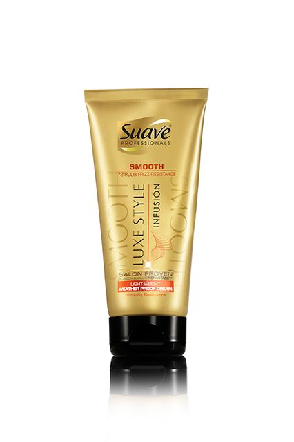 Drugstore Beauty Blowout: All The Newness You Need To Know #refinery29  http://www.refinery29.com/new-drugstore-beauty-products-2015#slide-14  Static, frizz, and flatness are the bane of just about everyone's existence. Suave just made the battle a little easier. This balm helps smooth and weather-proof your style.Suave Professionals Luxe Style Infusion Smoothing Light Weight Weather Proof Cream, $4.99, available mid-January at Walgreens.