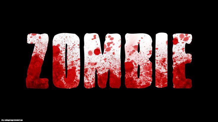 Zombie Blood Splatter