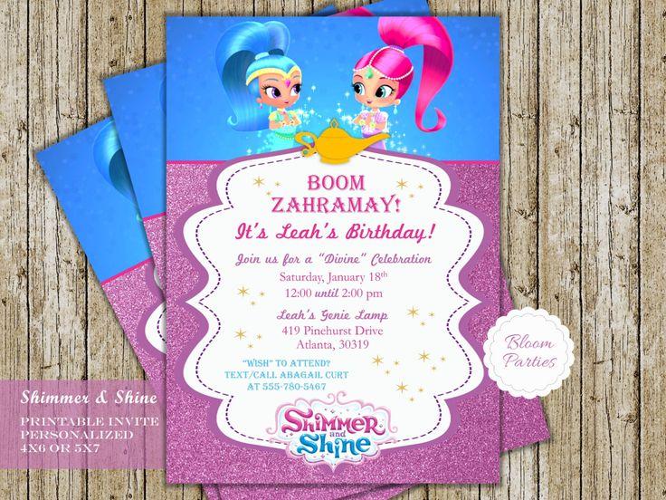 Printable Jasmine Birthday Invitations ~ Cinderella invitation thank you cinderella party birthday
