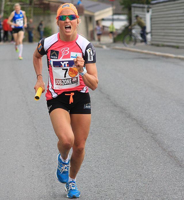 Therese Johaug run