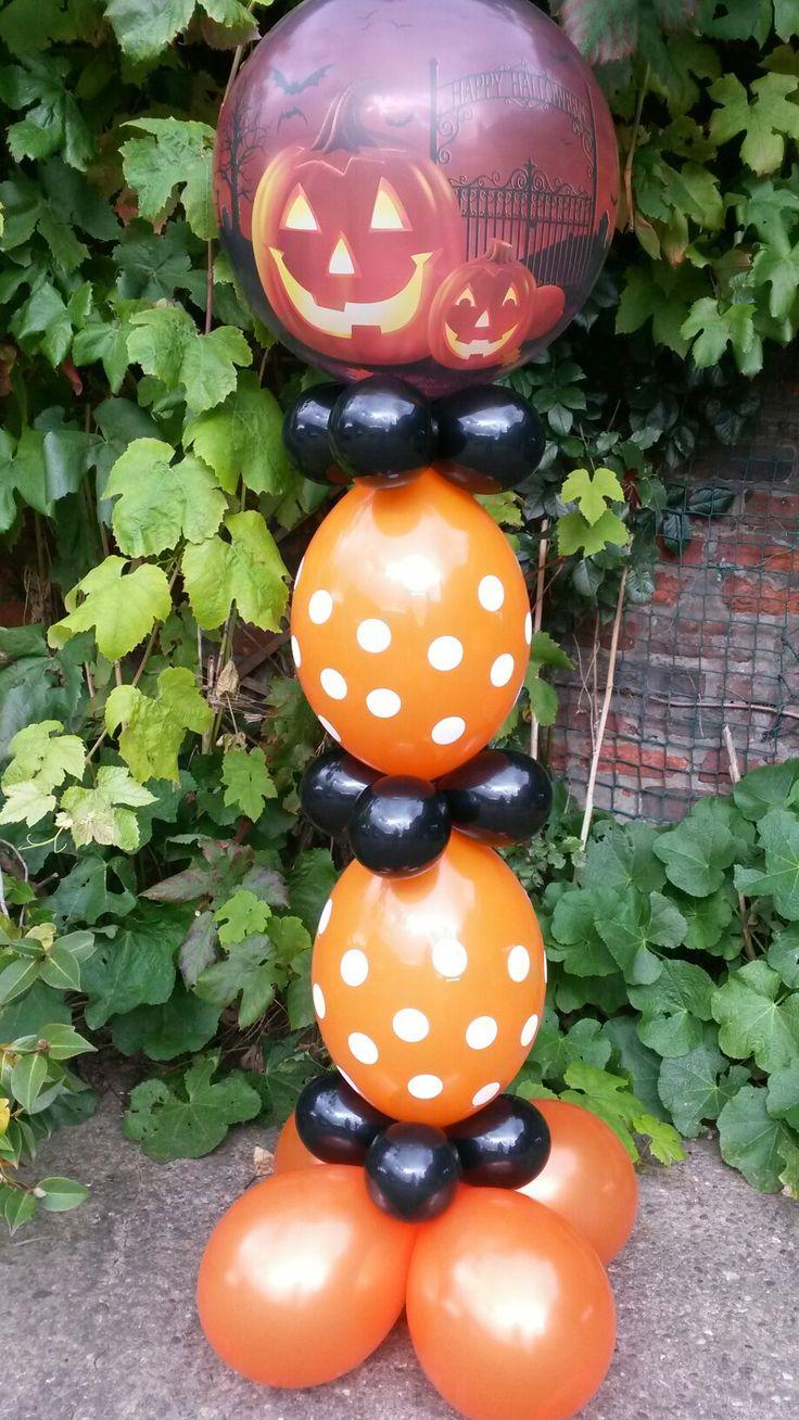 31a955cbbb6973402f992cd24c29e45a halloween balloons balloon columns