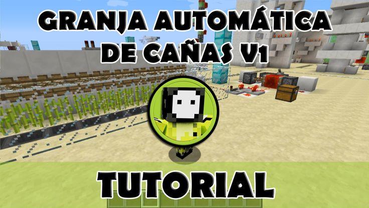 Tutorial Minecraft | Granja automática de cañas V1