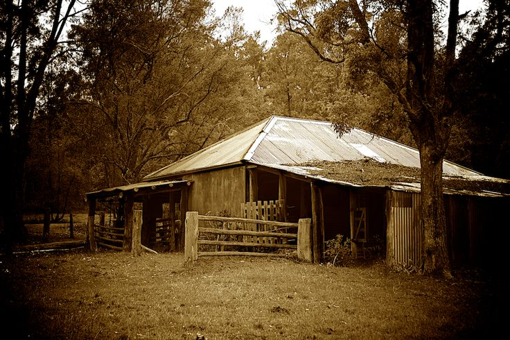 Old shearing shed - Megalong Valley - www.electronicswagman.com.au