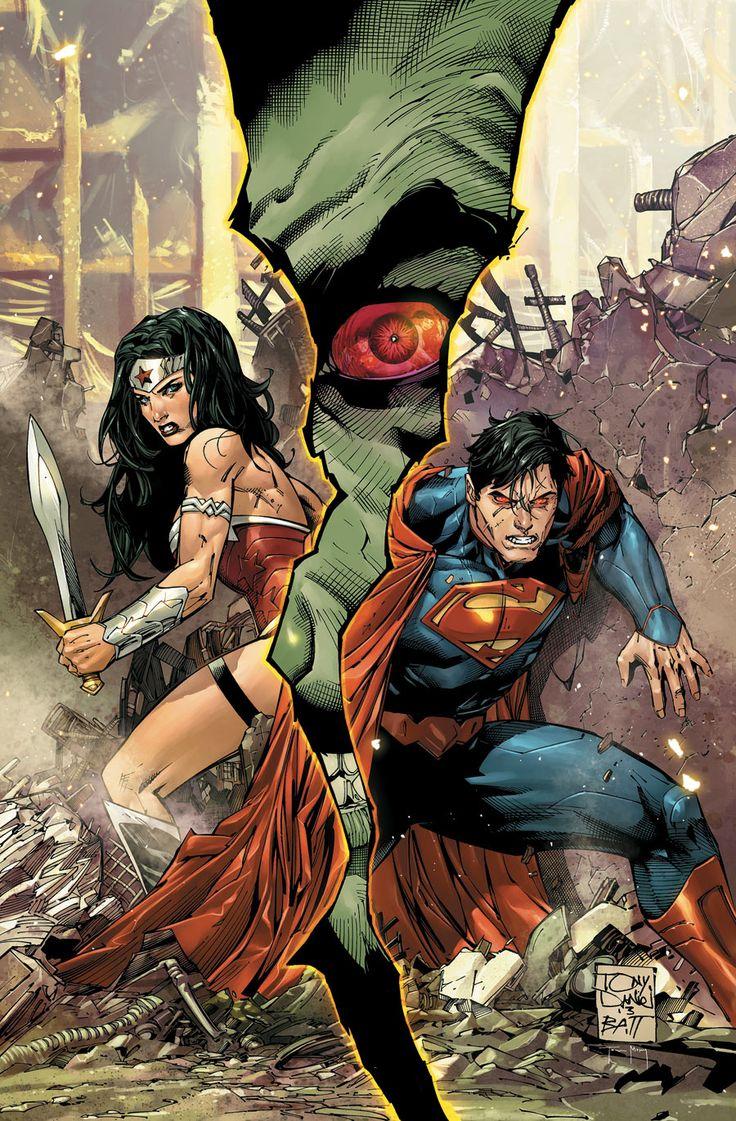 Wonder Woman & Superman by Tony Daniel