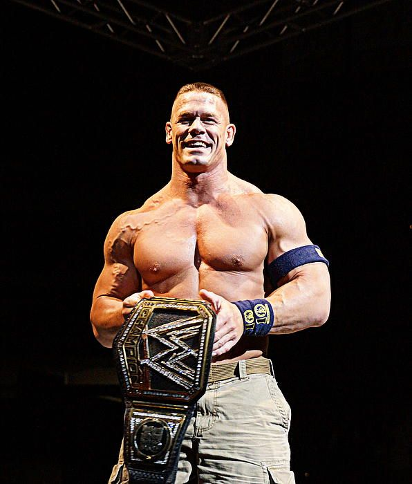 John Cena WWE World Heavyweight Champion