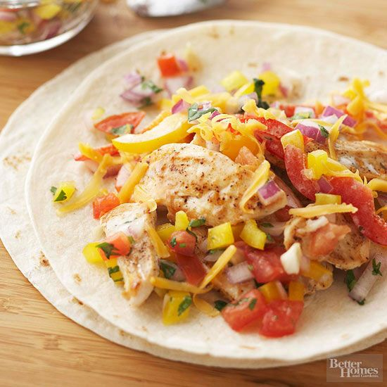 Budget dinner price: $2.05 per serving Enjoy a light supper with this simple meal that's loaded with protein and veggies -- you'll feel satisfied even with smaller portions. Plus, you'll definitely save money dining in rather than out at a Mexican hot spot./