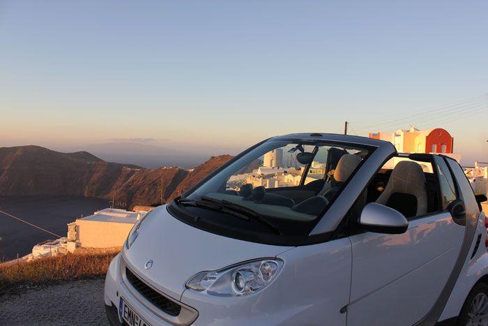 Santorini Car