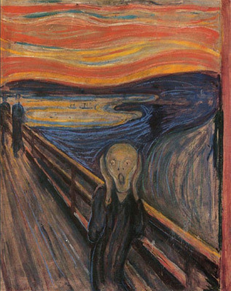 Edvard Munch The Scream 1893. My favorite painting