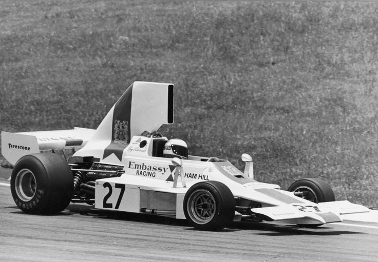 Guy Edwards, Lola T370 Ford Cosworth DFV 3.0 V8, Brazil, 1974.
