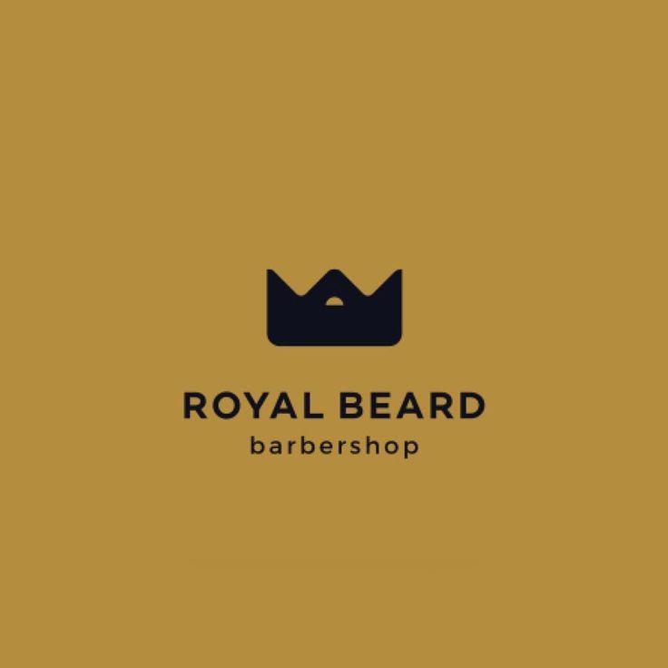 Royal Beard Barbershop by @mikylangela  logoinspiration.net #logo #design #inspiration