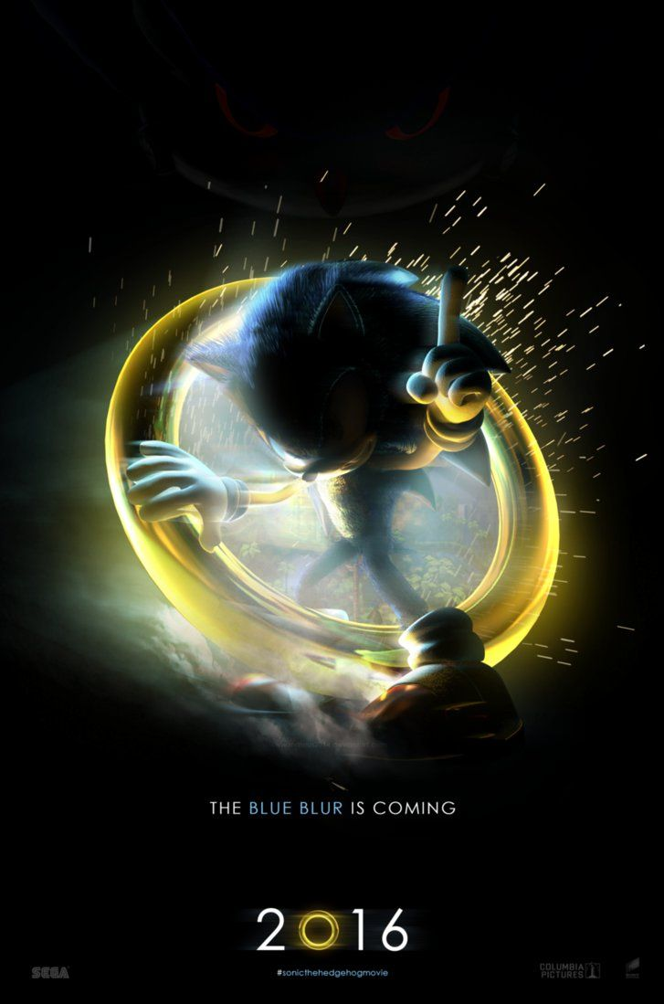 Sonic The Hedgehog Movie Teaser 3 By Mateus2014 Sonic
