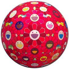 Flower Ball (art print) by Takashi Murakami https://artsation.com/en/shop/frieze-art-fair-special