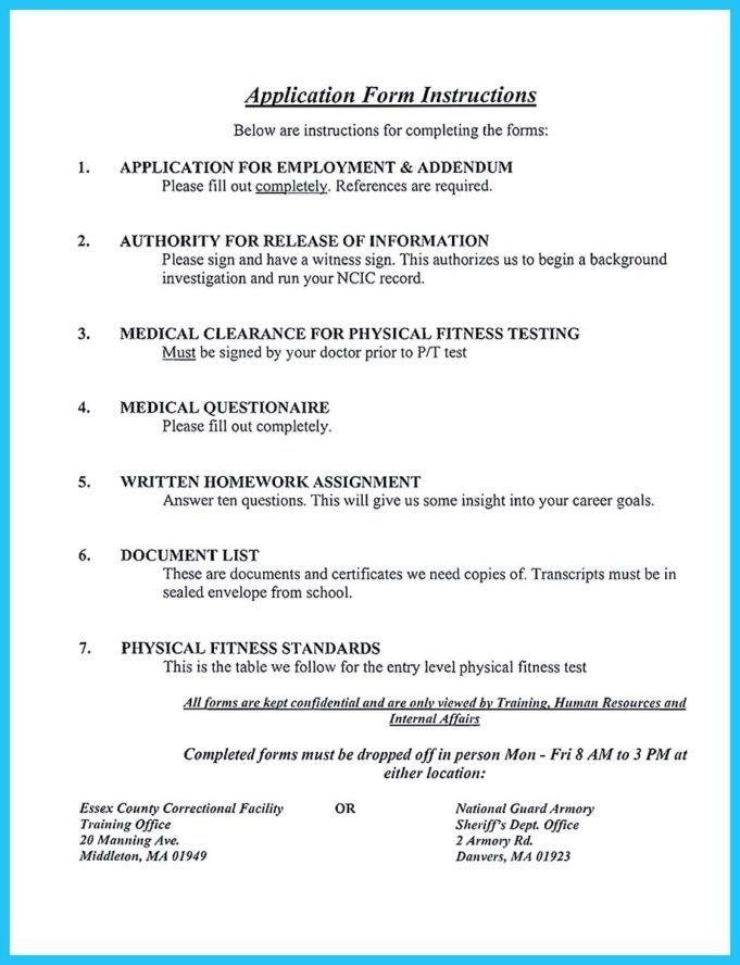 Correctional Officer Resume No Experience Job Resume Examples Resume Examples Resume Skills
