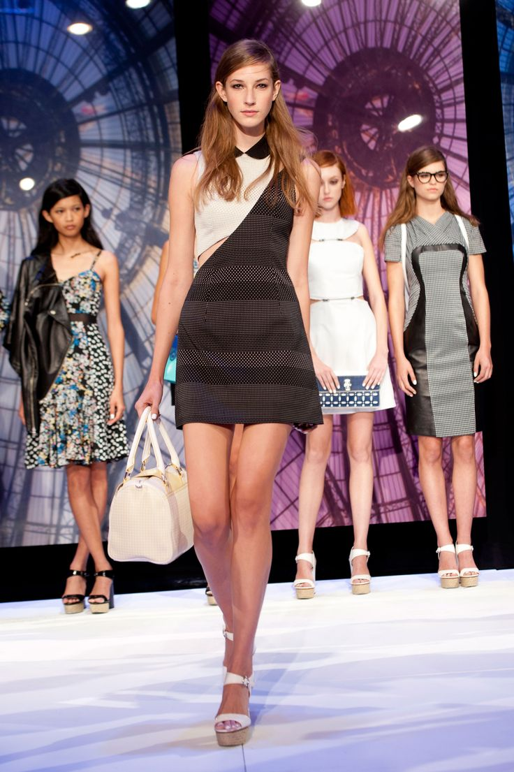 Charlotte Ronson Spring 2014 Ready-To-Wear Collection. #NYFW