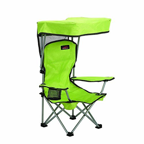 Kids Camping Chair With Canopy, 15 x 10-1/2 x 33-1/2 open size