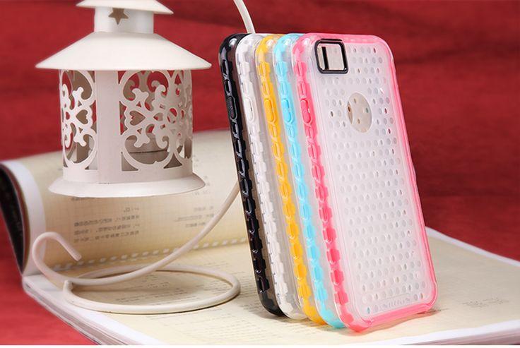 【Nillkin】ケース 4.7インチ アイフォン6s アイフォン6 ハード カバー スマホケース スマホカバー 超薄 透明 キャンデー風 Candy 可愛い ハイブリッド 携帯電話ケース APPLE iPhone6s iPhone6―ピンク【全5色】