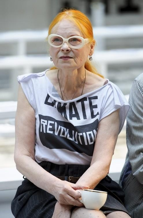 Vivienne Westwood. Her and my Nanna, probably the coolest ladies ever