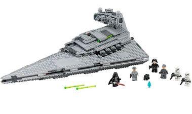 Имперский Звездный Разрушитель, 75055 лего звездные войны