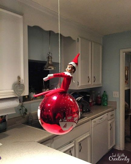 Our Elf on the Shelf Ringo Bells is back for another Christmas full of silly tricks and pranks. You can find over 75 ideas I've used for our elf over the years HERE, and you can follow me on Instagram for daily updates. This year, I followed a tutorial by All Mommy Wants on making...Read More »