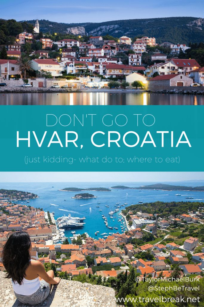 A playful guide and travel inspiration for Hvar Island, Croatia. A must-do European spot for food, festivals and photography. From the travel blog | Travel-Break.net