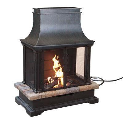 Sevilla Gas Burning Fire Place