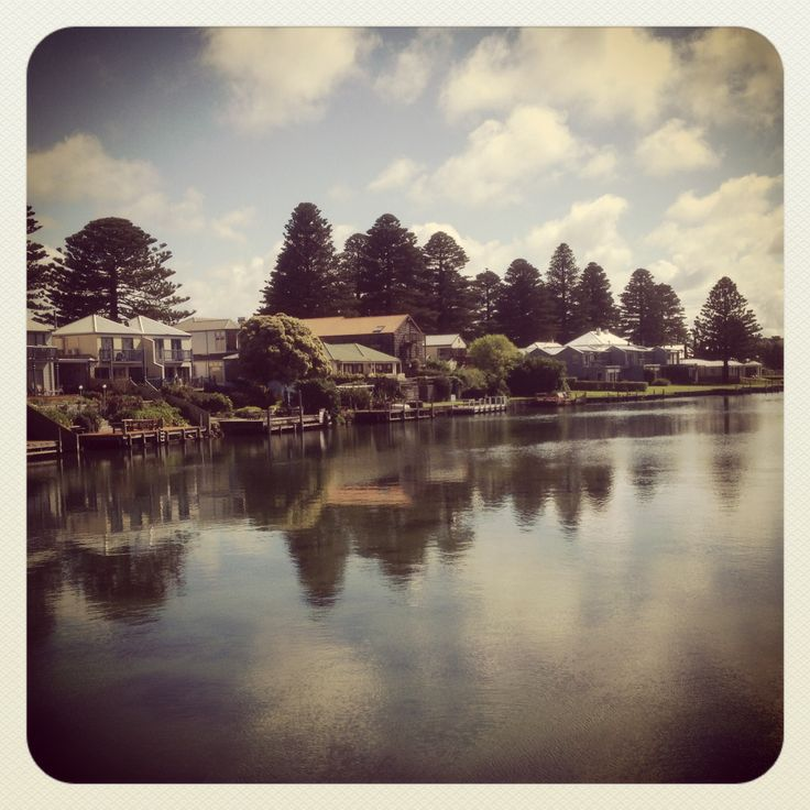Port Fairy on the Moyne River. Home of The Fountains Agency!
