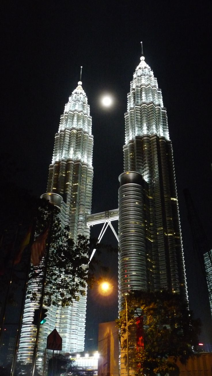 Twin Towers in Malaysia are definitely a must see and are the most beautiful/magnificent at night!
