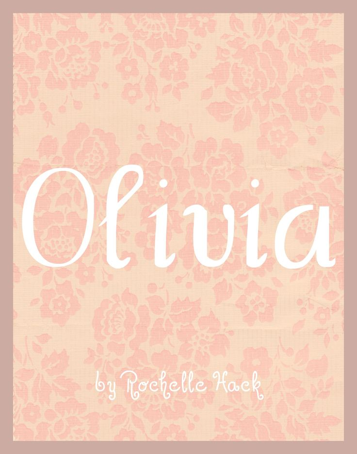 baby girl name olivia meaning olive tree signifying