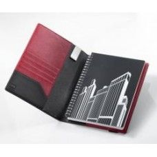 Troika A5 Leather Notebook, Red Pepper $89.95 - Spice things up with this gorgeous leather notebook with striking contrasting lining.