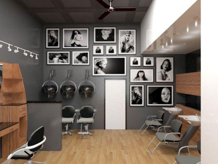 Impressionanti idee di design per la piccola sala del salone 08