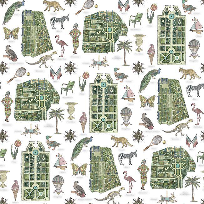 Маран Монтагю (Marin Montagut): обои и парижский атлас • Новости • Дизайн • Интерьер+Дизайн