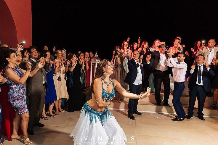 Luxurious Poema Santorini Wedding Event @ La Maltese Estate Villa