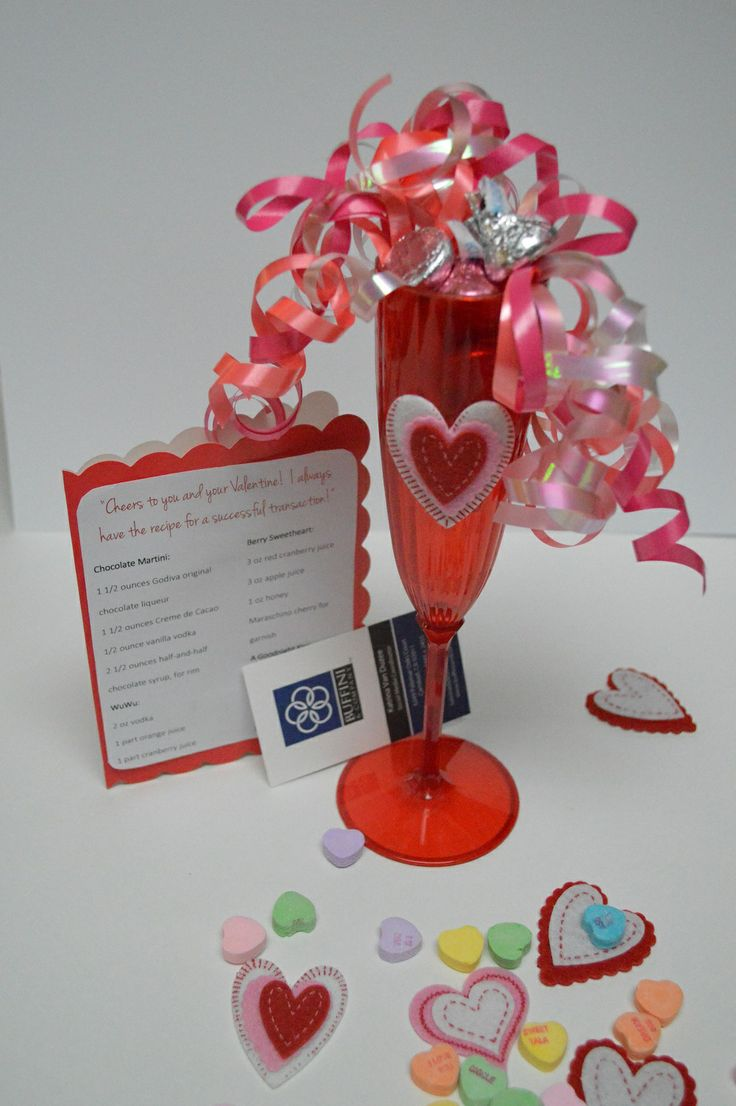 Valentine party ideas for church - Valentine S Day Pop By Gift Idea Cheers To You And Your Valentine I Always Have The Recipe For A Successful Transaction