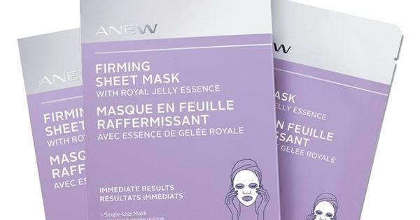 Anew Firming Sheet Mask with Royal Jelly Essence (4 pack)   Shops, Boss and How to use